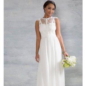 ModCloth Lace Wedding Dress- size small